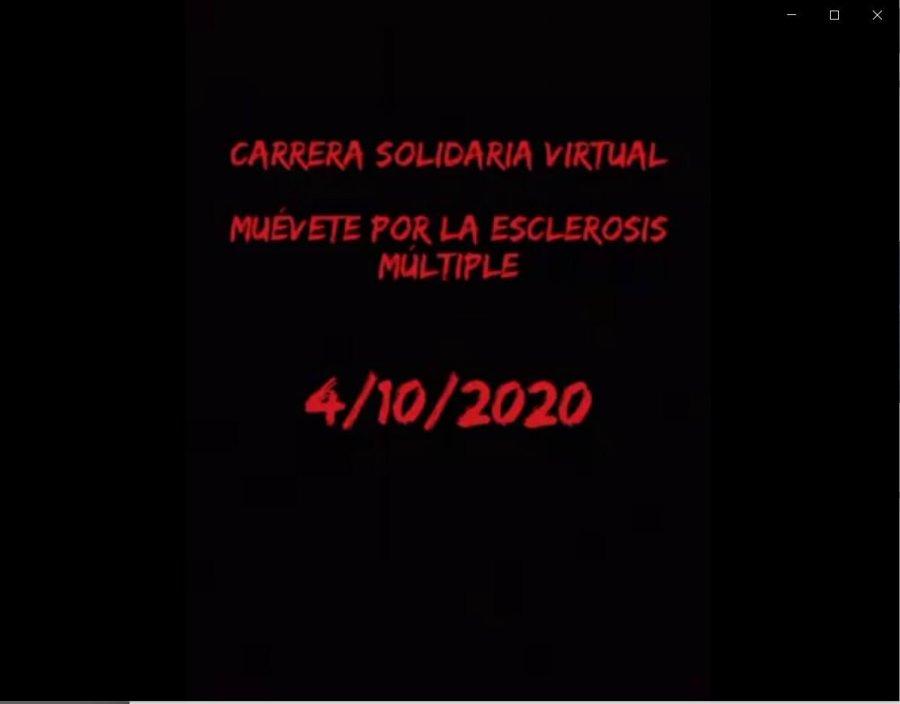 Carrera Solidaria Virtual. Muévete por la Esclerosis Múltiple.